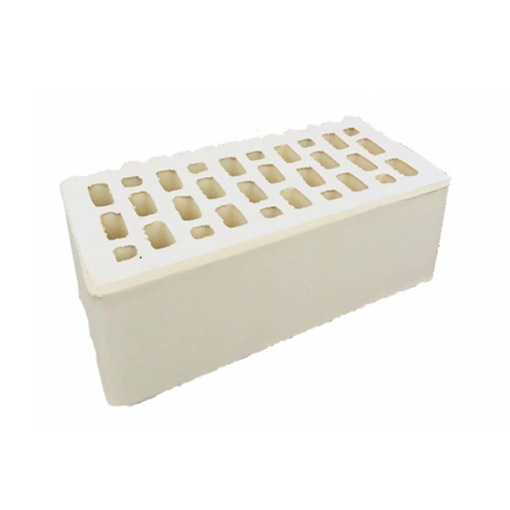 Кирпич керамический, пустотелый, полуторный, цвет слоновая кость, гладкий - Алексеевская керамика