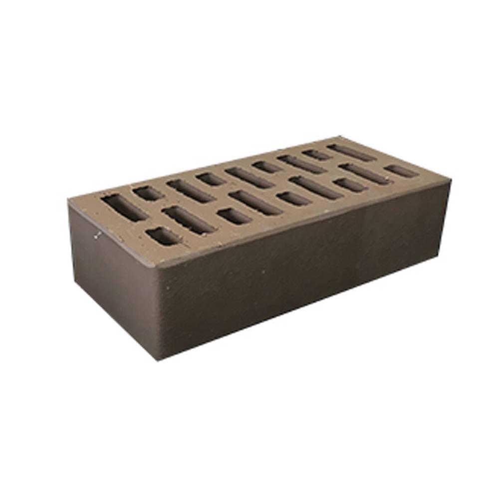 Кирпич керамический, пустотелый, одинарный, цвет шоколад - АСПК (Арск)