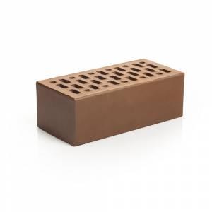 Кирпич лицевой керамический, полуторный, пустотелый, цвет шоколад - Магма