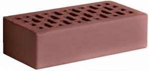 Кирпич керамический гладкий, одинарный, пустотелый, цвет темный шоколад - Кирово-Чепецк