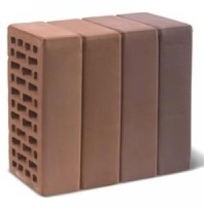 Кирпич керамический декоративный, одинарный, пустотелый, цвет рочестер, гладкий - Кирово-Чепецк
