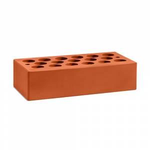 Кирпич керамический, пустотелый, одинарный, цвет красный, поверхность гладкая - Кощаковский завод