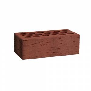 Кирпич керамический, пустотелый, полуторный, цвет бордо, поверхность галич с песком - Кощаковский завод