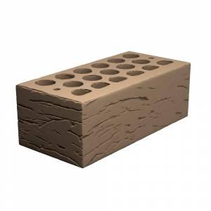 Кирпич керамический, пустотелый, полуторный, цвет шоколад, поверхность галич - Кощаковский завод