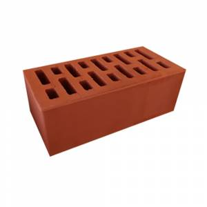 Кирпич керамический, пустотелый, полуторный, цвет красный - АСПК (Арск)