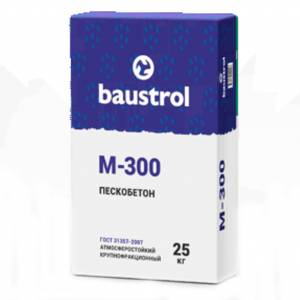 Baustrol M-300 - пескобетон